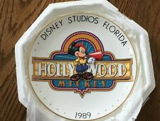 Disney 1989 - Hollywood Mickey Plate *NEW* Limited Edition