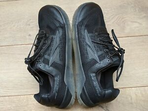 NOS Men's Altra HIIT XT 1.5 Black/Grey Cushioned Cross-Training Shoes US 10.5