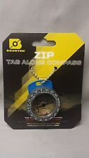 NEW Brunton Tag Along O.S.S. Zipper Pull Liquid Filled Compass OSS Backpacking