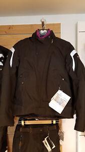 BMW Mottorad Tourshell Jacket - Womens - Black/Lilac - Pants Sold Separately
