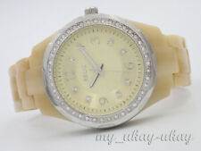 RELIC by Fossil ZR11903 Crystal Cream Acrylic Band Ladies Watch