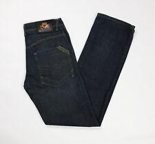 Warren webber jeans uomo usato gamba dritta W29 tg 43 rigito tech denim T3641