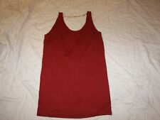 H & M Tank Top Dress / Swag Back w/Goldtone Chain - Size M - New with Tags