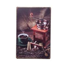 COFFEE Pattern Metal Tin Sign Art Poster Cafe Bar Pub Shop Plaque Decor 20