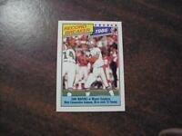 DAN MARINO , DOLPHINS 1987 TOPPS FOOTBALL , RECORD BREAKER CARD #6 MINT!