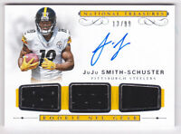 2017 National Treasures Rookie NFL Gear JuJu Smith-Schuster Auto Jersey #13/99