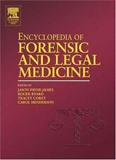 Encyclopedia of Forensic and Legal Medicine, Volume 1-4-ExLibrary