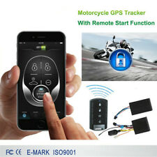 Motorcycle GSM GPS Tracker Anti Theft Remote Start Remote Alarm Anti positioning