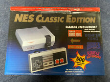 NES Classic Edition Home Console - Gray -500 games included