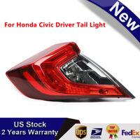 New 2016 2017 Honda Civic sedan left driver tail light outer piece