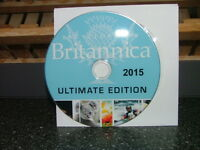Encyclopedia Britannica 2015 Ultimate Edition DVD