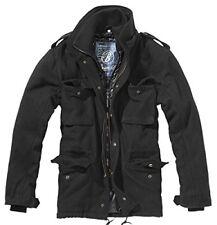 Brandit M65 Voyager Wool chaqueta para hombre Schwarz (schwarz 2) Small