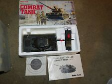 Vintage Radio Shack Radio Controlled Combat Tank In Box 60-4052 1990