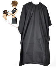 Hair Cutting Cape Pro Salon Hairdressing Hairdresser Gown Barber SOLID BLAC