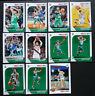 2019-20 Panini NBA Hoops Boston Celtics Base Team Set of 10 Basketball Cards