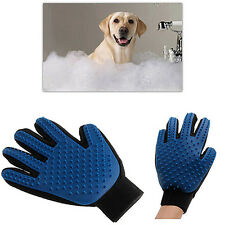Pet Deshedding Cleaning Brush Glove Dog Hair Massage Grooming Groomer Reliable