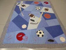 Nice Handmade Boy's Sports Quilt