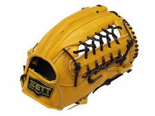 ZETT Pro Model 12.5 inch Tan Baseball Softball Outfielder Glove