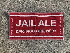 New Jail Ale Dartmoor Brewery Beer Towel Bar Pub Mancave