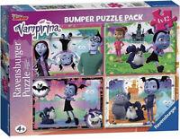 Ravensburger - VAMPIRINA 4 x 42 Piece Jigsaw Puzzle - New And Sealed - Disney