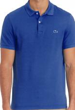 Mens Authentic Lacoste Tonal Croc Pique Polo Shirt Delta Blue 3 Small $98