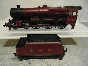 BACHMANN BRANCHLINE JUBILEE CLASS 4-6-0 LMS RED IMPREGNABLE 5721 MODEL 31-154