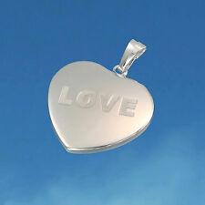 """Herz - Anhänger """"LOVE"""" aus 925/- Sterling Silber"""
