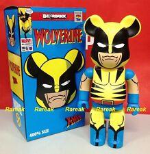 Medicom Be@rbrick 2014 Marvel DC Comic 400% X-Men Wolverine Bearbrick 1pc