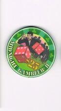 Midnight Gambler II Dice $25 Casino Chip