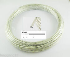 "40"" 1M 3FT 3feet Semi-rigid Flexible RG402 0.141"" RF Coaxial Coax Cable"