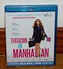 TENTACION EN MANHATTAN - PACK COMBO BLU-RAY + DVD - NUEVO - PRECINTADO -COMEDIA
