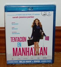 TENTAZIONE IN MANHATTAN - SET COMBO BLU-RAY + DVD - NUOVO - SIGILLATO -COMMEDIA