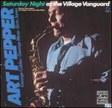 Saturday Night At The Village - Art Pepper (1992, CD NUEVO)