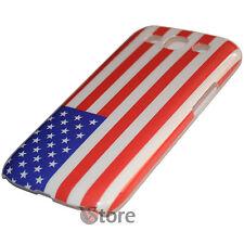 Cover Custodia Per Samsung Galaxy S3 Neo i9300 Bandiera Americana + Pellicola