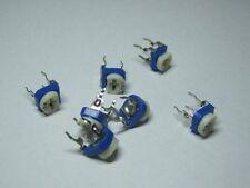 100pcs 10 Values Potentiometer Trimpot Variable Resistor Assortment Box Kit