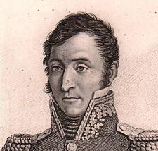 Général Jean Joseph TARAYRE NAPOLEON Bonaparte Premier EMPIRE 1818 Aveyron