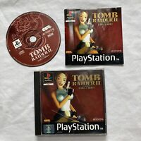 Tomb Raider 2 Sony PlayStation PS1 Video Game (PAL) UK VERSION - Complete.