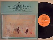 LP CIAIKOVSKI- CONCERTO PER PIANOFORTE N.1 OP 23 VIOLINO OP 35 -F. REINER RCA NM