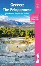 NEW Greece : The Peloponnese By Bradt Travel Guide Paperback Free Shipping