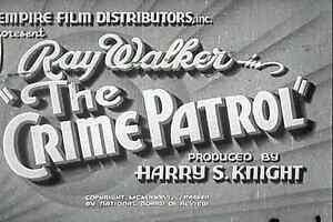 The Crime Patrol (1936) Ray Walker, Geneva Mitchell  Crime Drama DVD