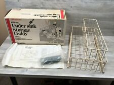 New Vintage Amerock C8601-11 Cabinet Aides Roll-Out Under Sink Caddy w/ Box 1988