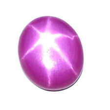 100% Natural 6 Rays 8.50 Ct.Thailand Pink Star Ruby Oval Shape Loose Gem J-6781