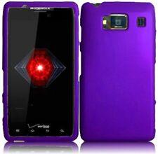 Motorola Droid RAZR HD XT926 Rubberized HARD Case Snap Phone Cover Dark Purple