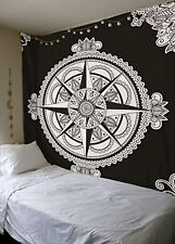 Indian Compass Tapestries Large Hippie Wall Hanging Bohemian Mandala Throw Decor