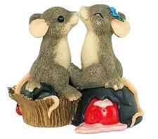 Fitz & Floyd Charming Tails-Candy Kisses Figurine