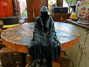 """""""DARKNESS RESIDES"""" Haunting Faceless Figure. Dark & Scary. Grim Reaper, Gothic"""