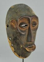 Puissant masque LEGA Congo Rdc Bwami  mask African Tribal Art Africain