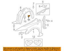 HONDA OEM-Fender Liner Splash Shield Push Clip Retainer Blind Rivet 90682SEA003