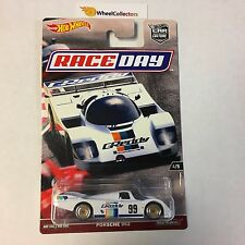 Porsche 962 * WHITE * Car Culture 2017 Hot Wheels Race Day Case J