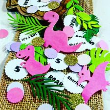 Dinosaur birthday party supplies 300 count Confetti Baby shower Personalize